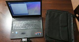 Ordenador portatil lenovo ideapad 100 con funda
