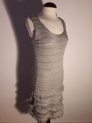 Vestido de punto, años 20.