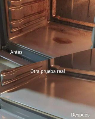 Limpiador de hornos y vitrocerámicas