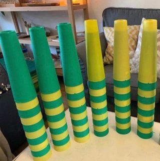 15 conos / bobinas