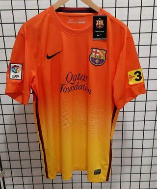 Camiseta Barça Nike nueva FC Barcelona naranja L