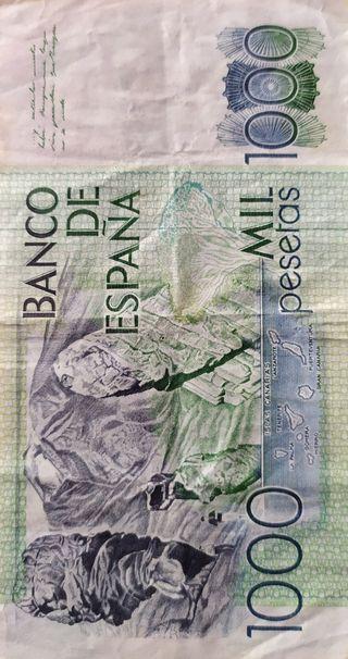 Billetes de 1000 pesetas