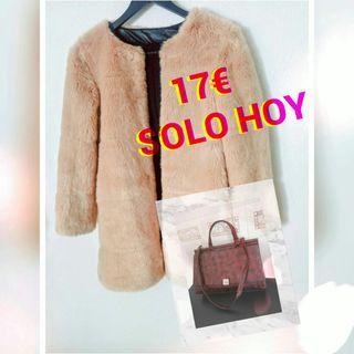 abrigo Zara + bolso