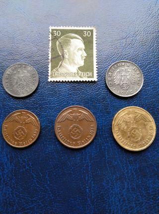 Monedas del III REICH.