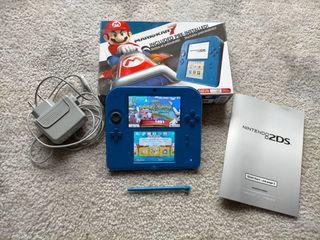 Nintendo 2ds nueva con Mario karts