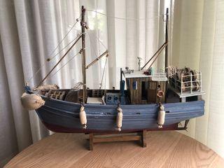 Maqueta barco antiguo