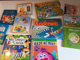 lote de libros i infantiles/ bebé
