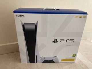 Sony PS5 con lector Blu-Ray Nueva a estrenar!