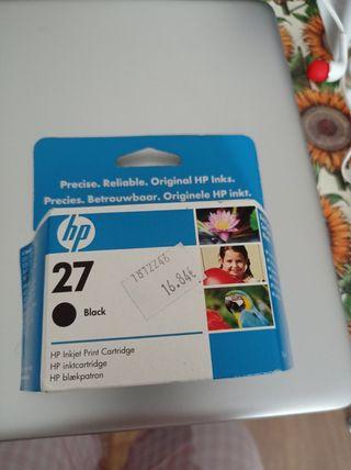 Cartucho de tinta negra HP
