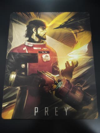 Prey steelbook PS4 Xbox One
