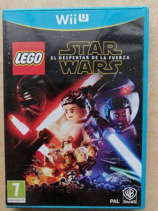 Lego Star Wars El despertar de la fuerza Wii U