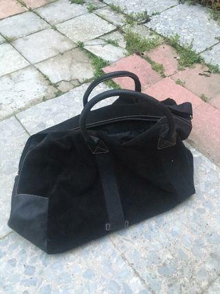 Bolsa de viaje negra