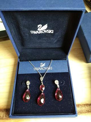 Collar y Pendientes Swarovski