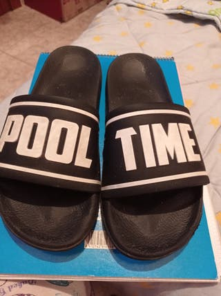 chanclas pool time