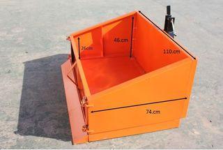 Caja basculante nueva para mini tractores