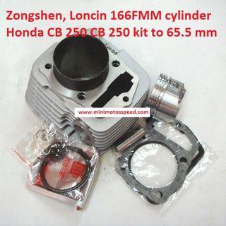 Zongshen, Loncin Honda 166FMM cilindro cb 250