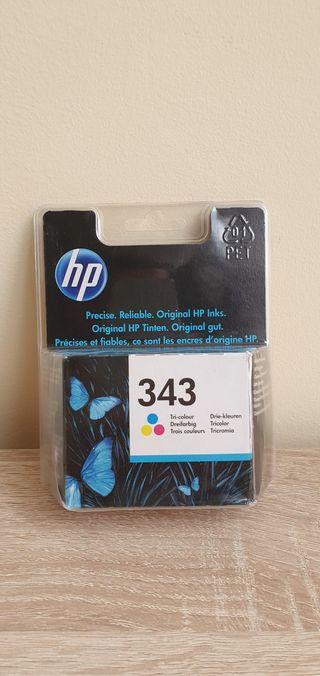 Cartucho de impresora HP 343 tricolor