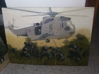 Lote Cuadros Militares Infantería de Marina