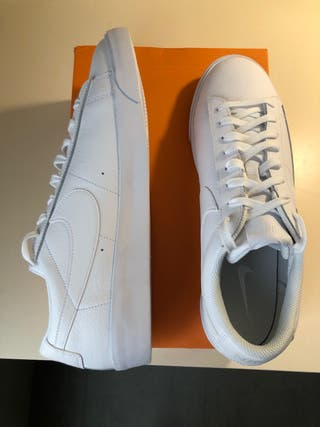 Zapatillas blancas Nike Blazer Low Le
