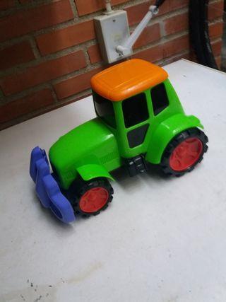 tractor para niño pequeño