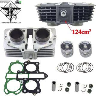 Kit cilindro Honda CB125 CA125 a 150cc Rebel