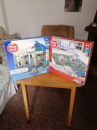 Puzzles de cartón 3D