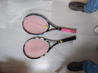 Pack 2 Raquetas tenis Babolat Pure Drive Lite