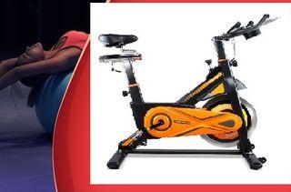 Bicicleta de Spinning Estática Ciclo Gama Alta
