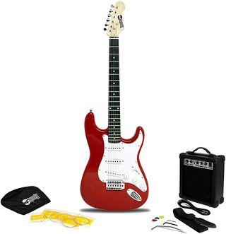 Guitarra eléctrica RockJam ROJA