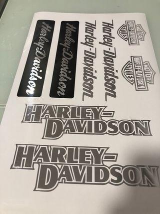 Kit adhesivas moto Harley