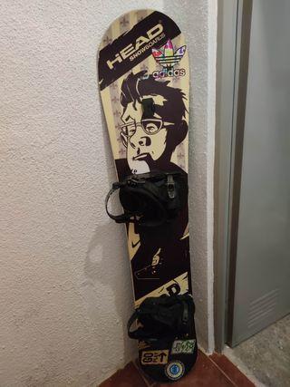 tabla de snowboard head edicion ballantines!!