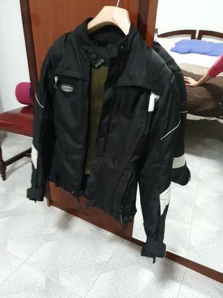 chaqueta moto motociclista mujer