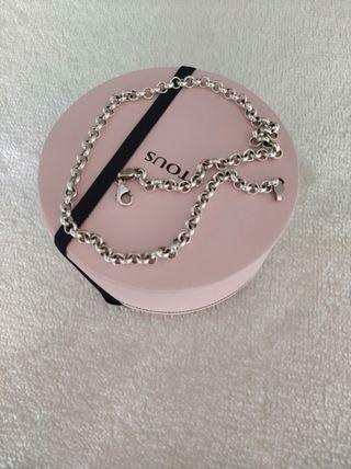 Gargantilla Tous chain de plata, 40 cm.