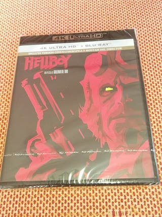 Hellboy Edicion 4K Ultra HD+Bluray Precintado