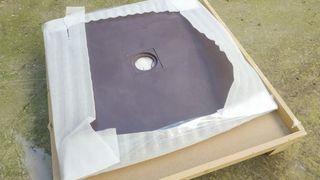 Plato de ducha resina 80 x 80