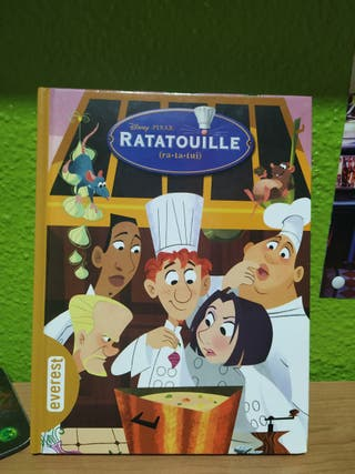 Cuento infantil ilustrado 'Ratatouille' Ed.Everest