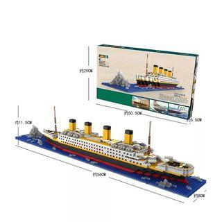 Barco Titanic construcción