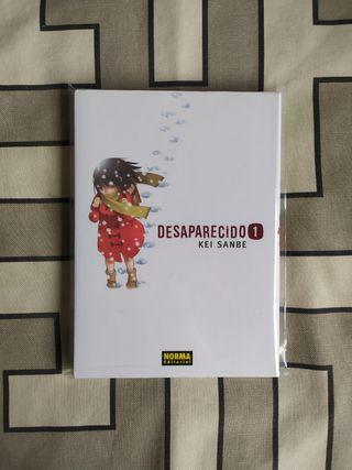 """Manga """"Desaparecido"""" (Erased) Tomo 1"""