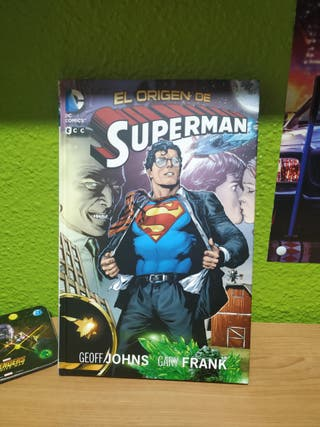 Cómic 'El Origen de Superman'