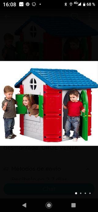 caseta de jardín para niños
