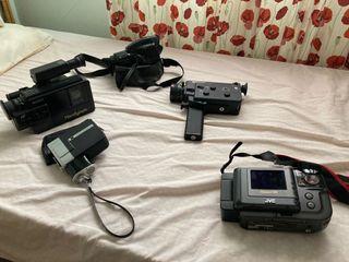 Lote de cámaras de foto y vídeo