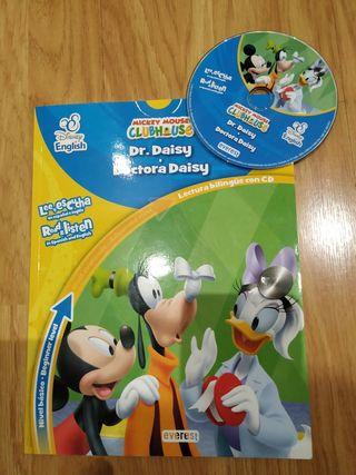 Libro bilingüe Ingles- Español + CD