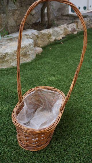 cestas de mimbre