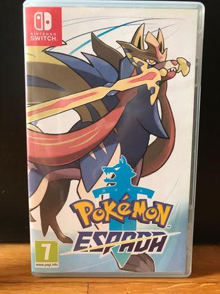 Videojuego Nintendo Switch Pokemon Espada