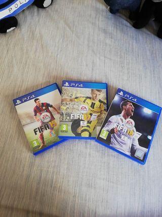 Lote Fifa Ps4