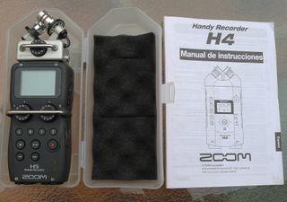 grabadora profesional portátil Zoom H5