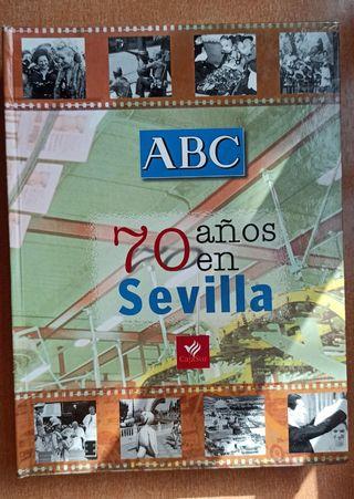 libro ABC 70 años en Sevilla