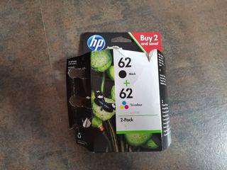Dos Cartuchos de Tinta HP nuevos Negro/Tricolor
