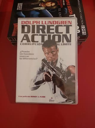 Direct Action DVD Dolph Lundgren