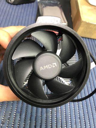 Disipador - ventilador para socket AM4